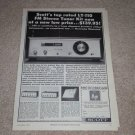 Scott LT-110 Tube Tuner Ad, 1964, Specs,Article, lk-72b