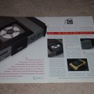Krell KPS-20i CD Player Ad, 1995, 2 pgs, Article, RARE!