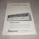 Sansui 5000a Receiver Ad from 1970,Nice!