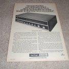 Harman Kardon Nocturne 820 Receiver Ad from 1970,RARE!