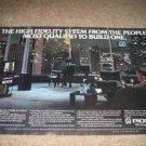 Pioneer 2 page Ad from 1981,receiver,speakers,tape