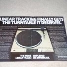 Pioneer PL-L800 Turntable Ad, 1982,2 pgs,Article, RARE!