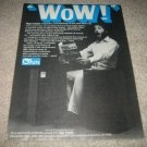 Ohm C2 Speaker Ad from 1977,Rare!