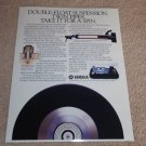 Yamaha PF-800 Ultimate Turntable Ad,1984,Article, RARE!