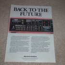 Marantz Century SR3600 Receiver Ad, 1988, Article,Specs