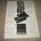 Rotel RB 980,RC980 Amp/Pre Ad from 1992,Nice!