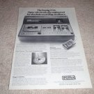 Eumig CCD Best in World! Cassette Deck Ad from 1975