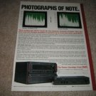 NAD Amp/Preamp Ad from 1988,Power Envelope!