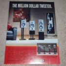 Energy e-Series Ad, 1991, Article, Hyperdome Tweeter
