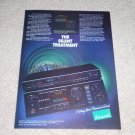 Sansui AU-D77X,577x Tuner Ad, 1984,Article,color, Nice!