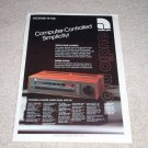 Audio Pro TA-150 Amplifier Ad, 1984,Article, RARE!