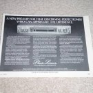 "Phase Linear 3000 II Preamp Ad,Article,Info 1979,6""x9"""