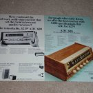 ADC 6060 Receiver Ad,1967,Specs,Article,2 sided,RARE!