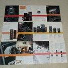 Polk 24 page Brochure, 1990, SRS, SDA, RTA, Specs, Info