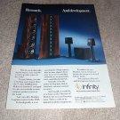 Infinity Ref Standard V,Modulus Speaker AD from 1990