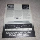 Altec 725a receiver AD from 1971, specs, article