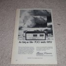 """Phase Linear 700 Amplifier Ad,Article,specs,6""""x9"""" 3"""
