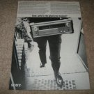 Sony 6060 Receiver Ad from 1968,Hard to find!