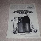 Infintiy Column Speaker Ad,1974, Article, RARE!