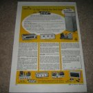Eico Tube Equipment Ad from 1958, very rare, preamp,amp