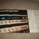 Sherwood 4 page Ad from 1973,S-8900A,specs,foldout