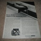 Revox B226 CD Player Ad from 1987,RARE!