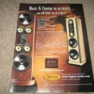 Legacy Speakers Ad from 2001 Whisper