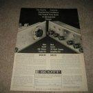 Scott LK-30 Tube Amp,LT-111 Tube Tuner Ad from 1960
