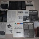 SAE Ad Archive on CD,15 Ads, 2 reviews,RARE ONES!