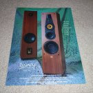 Legacy Signature III Speaker Ad from 1992, beautiful!