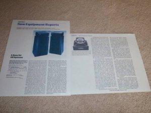Bose 601 Series II Speaker Review,1982,2 pgs,Specs