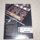 Audio Research LS5 Preamp Ad, 1990, Article, Tubes!