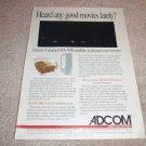 Adcom GFA-7000 Power Amp Ad from 1996