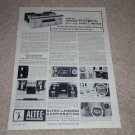 Altec 360 Amplifier Ad, 1964, Article, Specs, RARE!