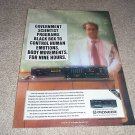 Pioneer 6 cassette Changer Ad from 1990,CT-M6r