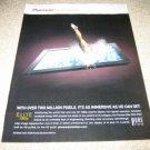 "Pioneer Elite 1080p 50"" Plasma Ad from 2006"