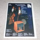 Audio Pro B2-50 Subwoofer Ad, 1984,color, Rare Ad!