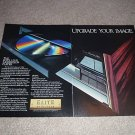 Pioneer Ad, ELITE LD-S1 Laser Disc, 1988, Nice!
