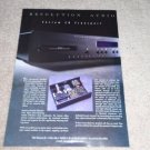 Resolution Audio Cesium CD Player Ad, 1995, Article