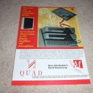 QUAD 67 CD, 306 Amp, 66 Pre Ad from 1995