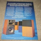 Pioneer Series R Speaker AD, 1972, Article, Rare!