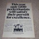 Ferrograph Super Seven Open Reel Ad, 1974, Article,RARE