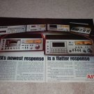 Aiwa AD-6800,6550,1250,6500,6300 2 pg Cassette Ad, 1975