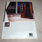 KEF Uni-Q 103/5 Speaker Ad from 1993, Reference