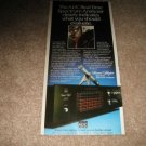 """ADC SA-1 Eq/Real-Time Analyzer AD from 1981 5""""x10"""""""