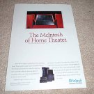 McIntosh Home Theater Ad from 1996,6 channel,Pre,Speake