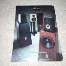 Aerial Acoustics Speaker Ad 1996,RARE! mint!