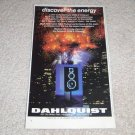 "Dahlquist DQM-9 Speaker Ad, 1983, Article,6""x9"""