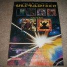 MFSL Ad from 1992, ULTRADISC II Santana, Tom Petty,Who