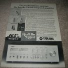Yamaha Class A Amp AD, CA-2010 ad from 1978